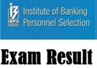 IBPS Prelims Results 2015